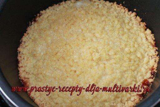 Песочный пирог в мультиварке-скороварке