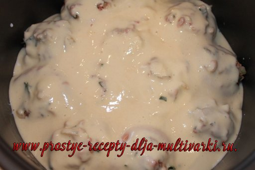 Вкусный пирог в мультиварке