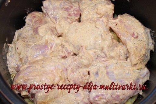 Курица мультиварке – скороварке