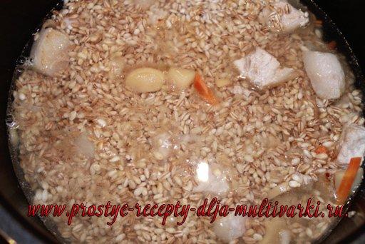 Перловая каша в мультиварке-скороварке