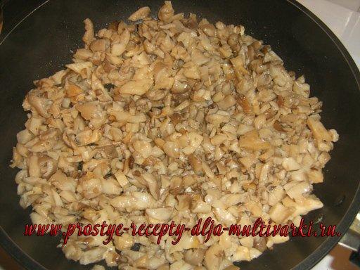 Голубцы с грибами