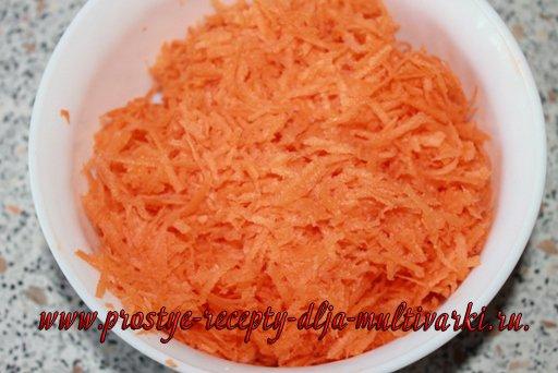 Морковный пирог с ананасами