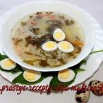 Суп из щавеля