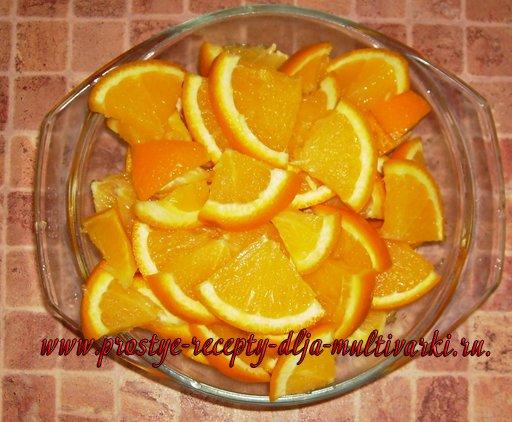 Апельсиновый морс в мультиварке