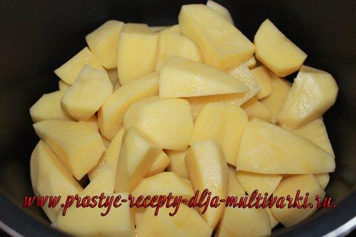 Картофельное пюре в мультиварке-скороварке