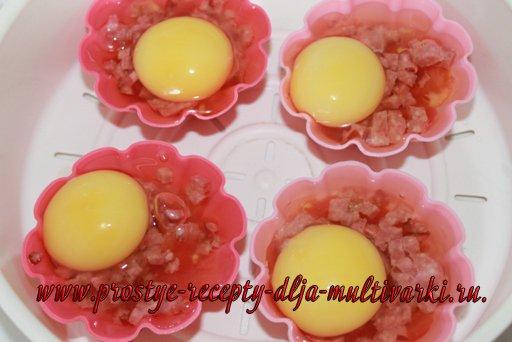 Яйца на пару – вкусный завтрак