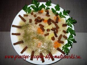 Суп с хлопьями рецепт