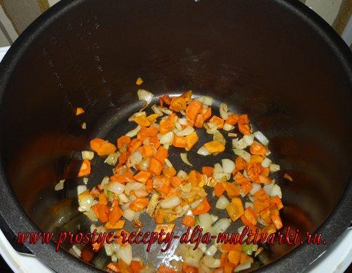 Рис с ребрышками в мультиварке - скороварке