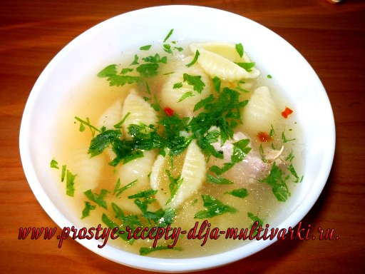 Мясо под шубой и суп в мультиварке