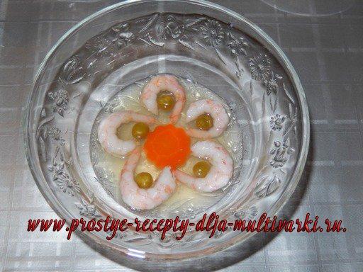 Рыбное заливное в мультиварке