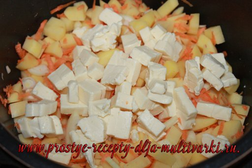 Сырный суп с фрикадельками в мультиварке – скороварке