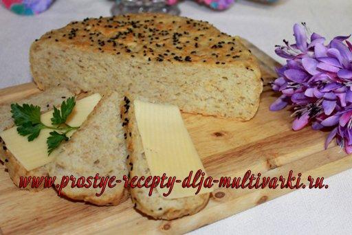 Хлеб овсяный в мультиварке
