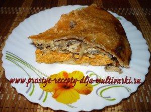 Как приготовить пирог с мойвой в мультиварке