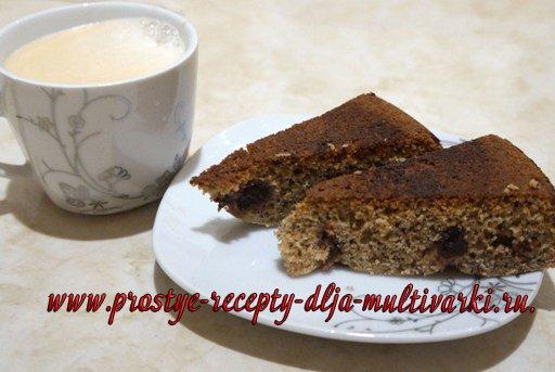 Ржаной пирог в мультиварке