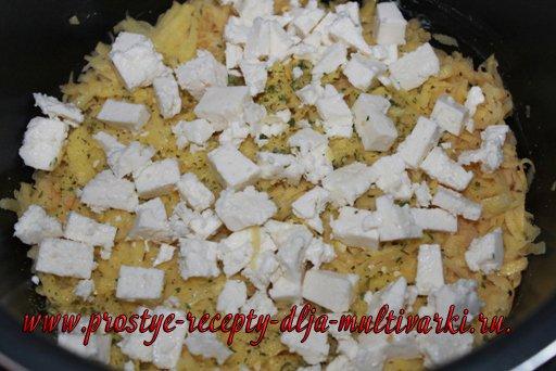 Запеканка картофельная с рыбой в мультиварке, в скороварке