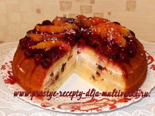 Апельсиновый торт в мультиварке