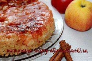Пирог с корицей и яблоками рецепт