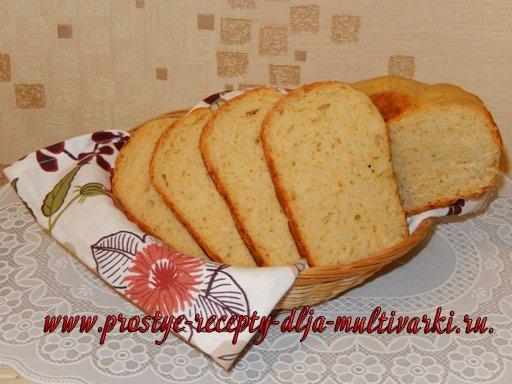 Как приготовить хлеб с сыром в мультиварке
