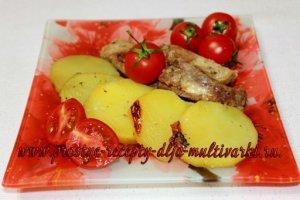 Ребрышки с картошкой рецепт