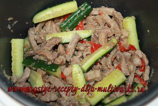 Мясо по-тайски в мультиварке