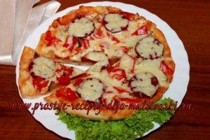 Пицца в мультиварке рецепт с фото