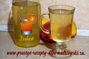 Как приготовить лимонад в мультиварке