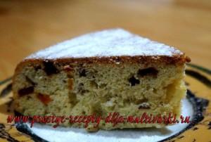 Как приготовить пирог с орехами и сухофруктами