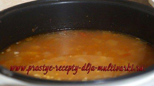 Суп харчо из баранины в мультиварке