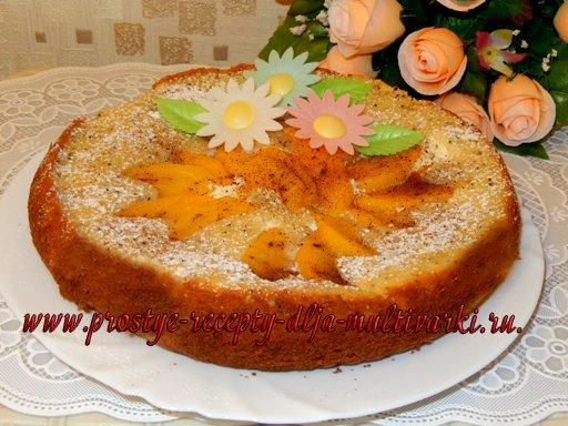 Пирог с хурмой рецепт