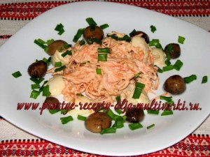 Салат из грудинки рецепт
