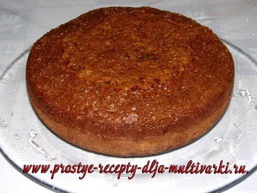 Рецепт быстрого бисквита