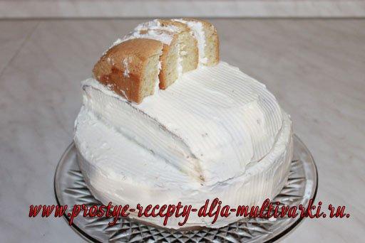Детский торт «Машинка» своими руками