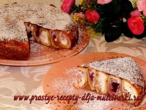 Домашний блинный торт