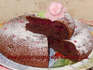 Пирог с вишней. Рецепт с фото