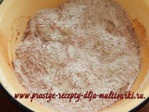 Ржаной хлеб в мультиварке | Рецепт | Идеи для блюд, Десерты, Хлеб | 384x512
