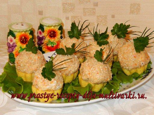 Закуска «Рыбные шарики»