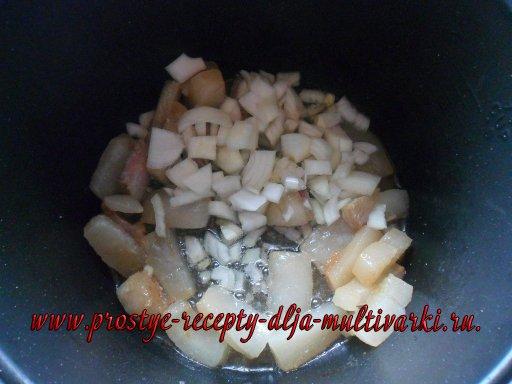 Печень в мультиварке. Пошаговый рецепт с фото